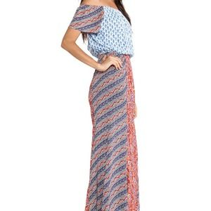 Tigerlily Indienne Maxi Dress Patchwork Size 2